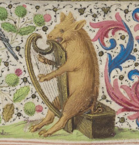 Hours of Mary of Burgundy Vienna, Osterreichische Nationalbibliothek, Cod. 1857 fol. 31v