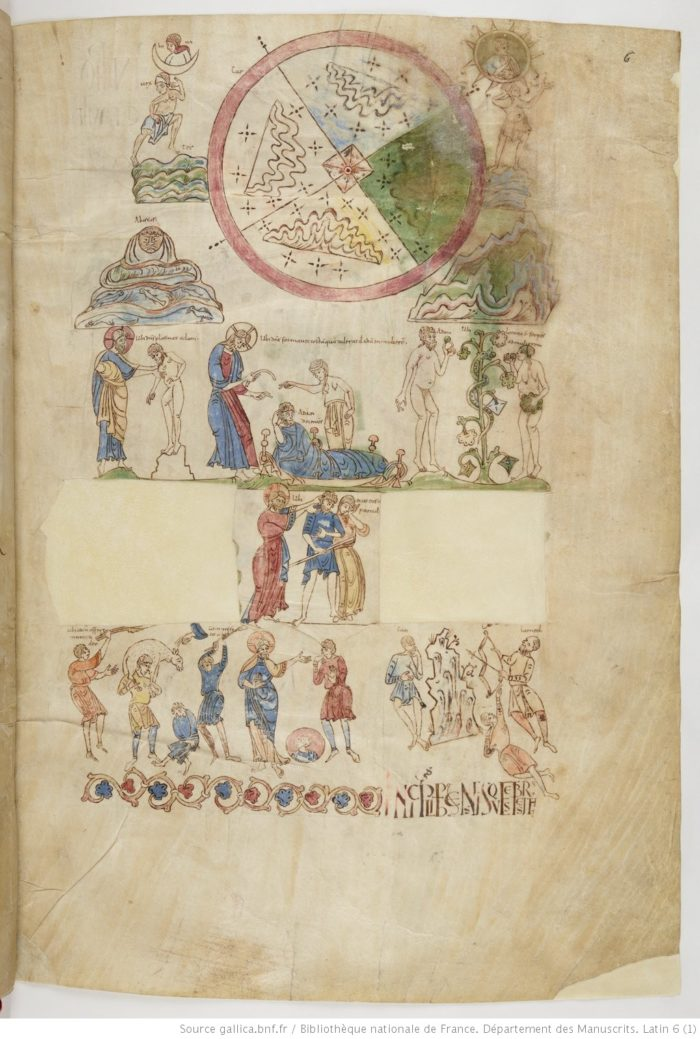 Paris, B.N., MS Lat. 6, f. 6